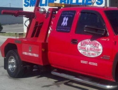 Towing in Blountville Tennessee